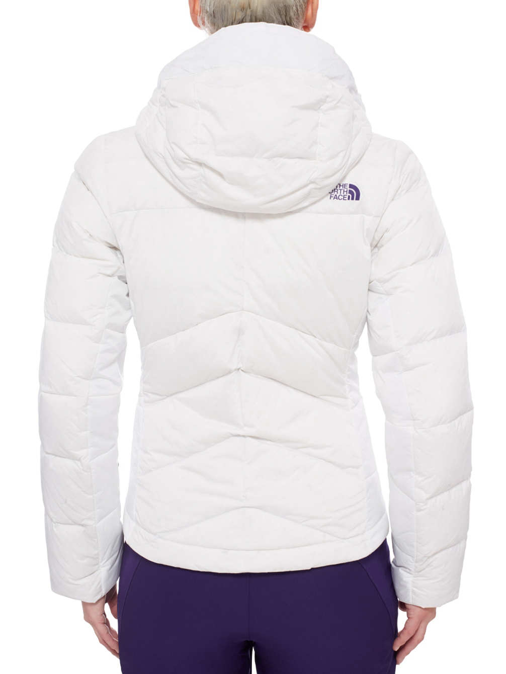 מעיל פוך נשים נורט פייס מדגם The North Face Women's  FLOCCUS DOWN JACKET tnf white