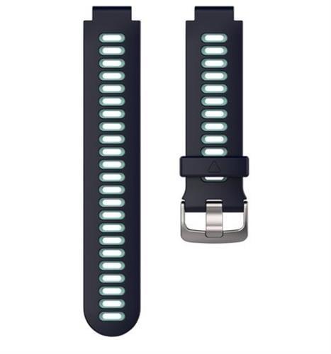 רצועה מקורית לשעון Garmin forerunner 735 כחול כהה/ טורכיז