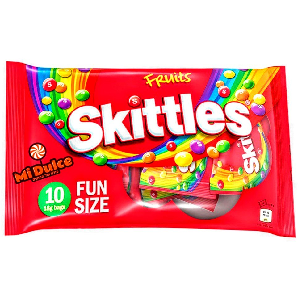 Skittles Fruit Fun Size