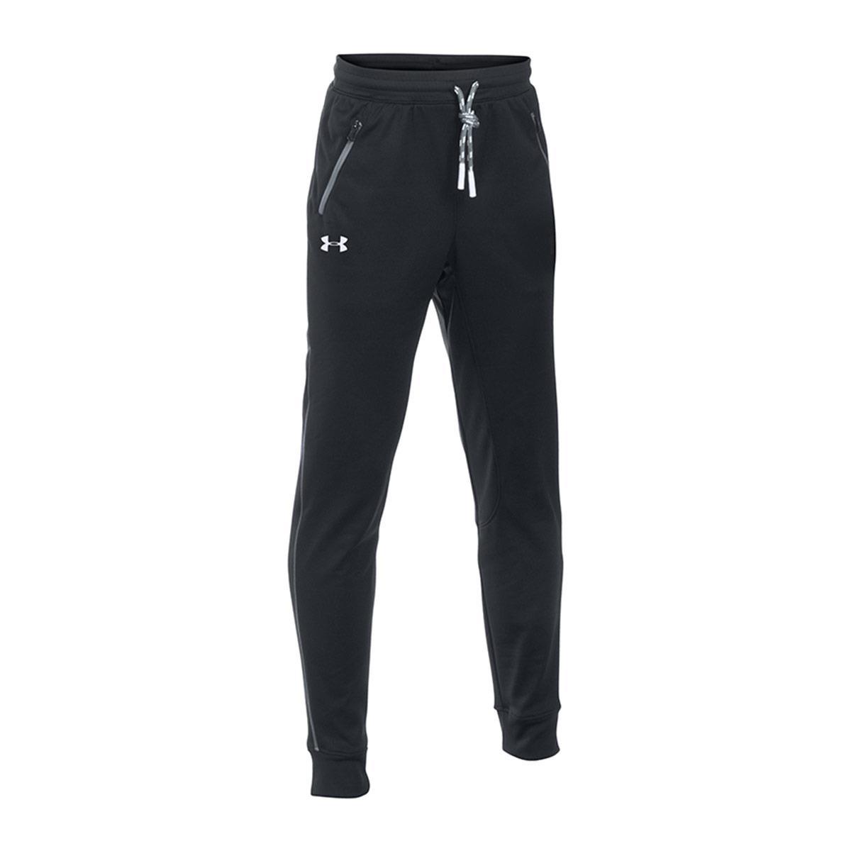 מכנסיי נוער אנדר ארמור  1281072-001 Under Armour Boys'  Pennant Tapered Trousers