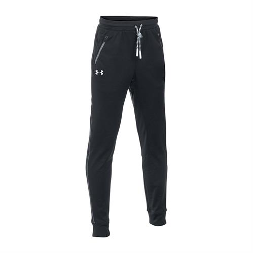 מכנסיי נוער אנדר ארמור  1281072-001 Under Armour Boys'  Pennant Tapered Trousers