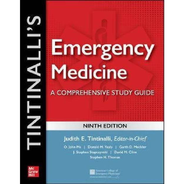 Tintinalli's Emergency Medicine: A Comprehensive Study Guide 9th Edition IE