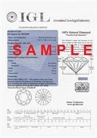 עגילי יהלומים 1 קראט דגם מרטיני | עגילי יהלומים צמודים לאוזן | עגילי יהלומים סוליטר בזול