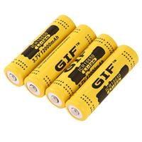 סוללה נטענת איכותית חברת 3.7v 12000mAh 18650 Li-ion GIF