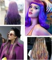 אבקת גיר צבעונית לצביעת שיער