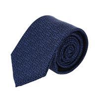 עניבה דגם נקודות כחול