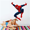 קופץ ללא קורים - מדבקות קיר ספיידרמן בתלת מימד
