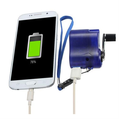 מטען לטלפון ידני - תומך בכל סוגי הטלפונים