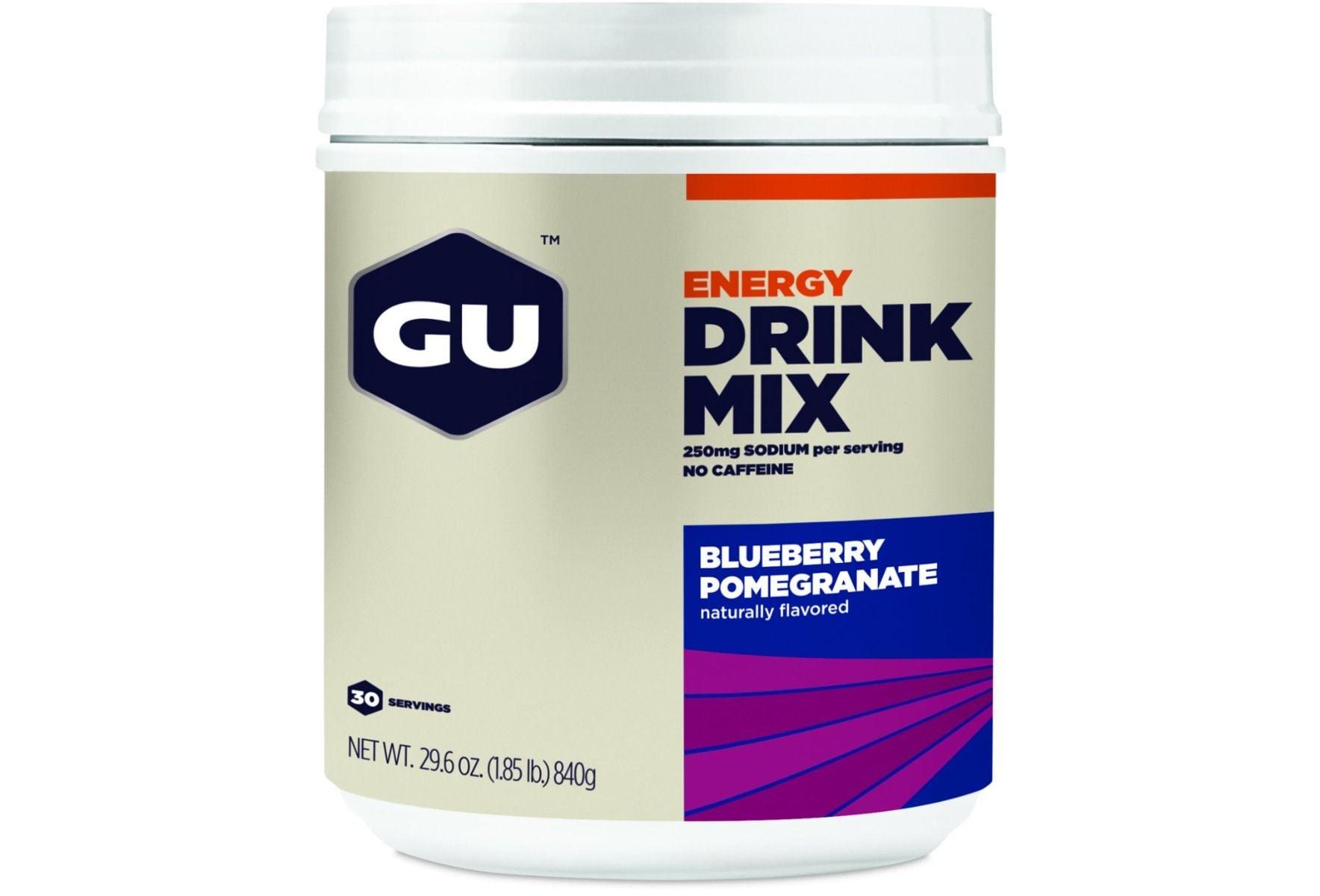 משקה איזוטוני GU אבקה להכנת משקה איזוטוני לצריכה לפני ובמהלך האימון
