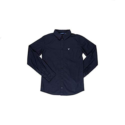 חולצה מכופתרת כחולה GUESS BABY