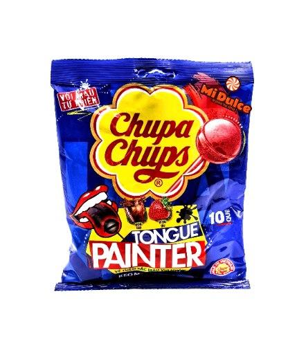 Chupa Chups צובע לשון!