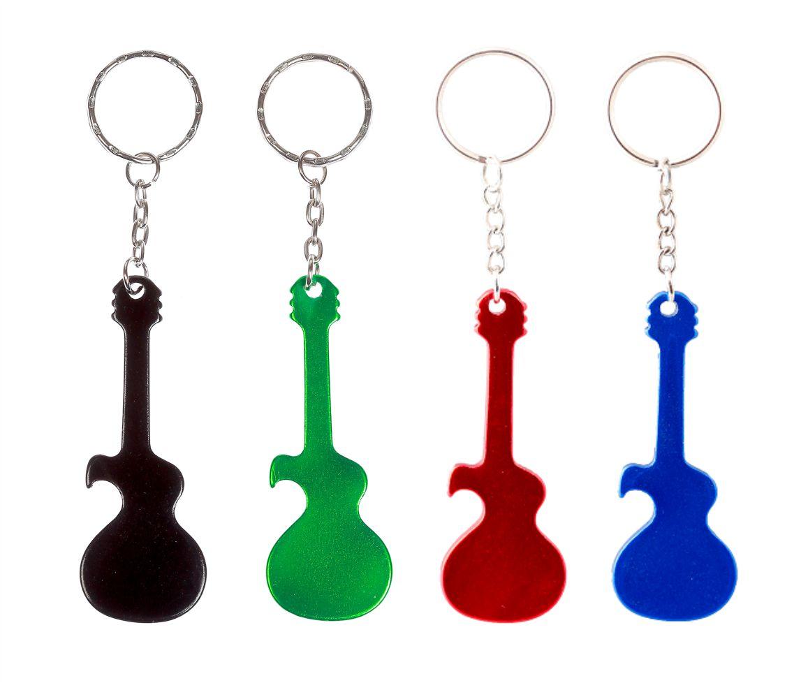 10 יח' פותחן בקבוקים - גיטרה כולל חריטת לייזר