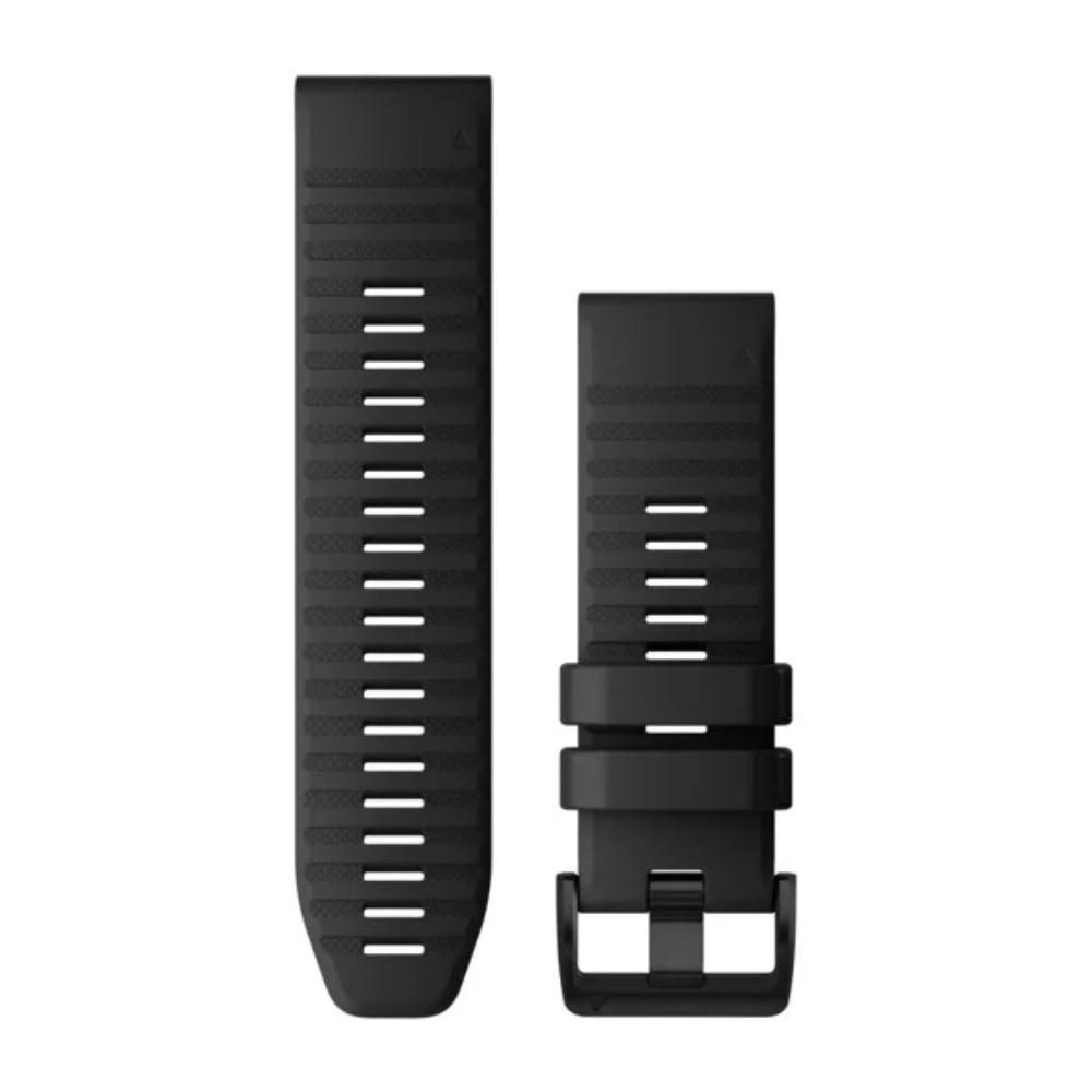 רצועה שחורה מקורית לשעון Garmin Fenix 6X QuickFit 26 Watch Bands