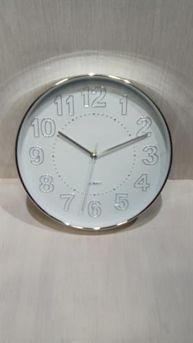 שעון קיר לבן MC1561