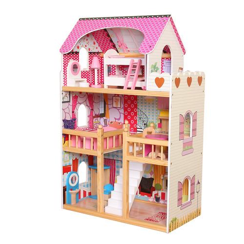בית בובות מעץ דגם DH603