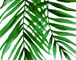 Tropical Leaves Texture Mat | Leaves Pattern | Nature Embosser Mat