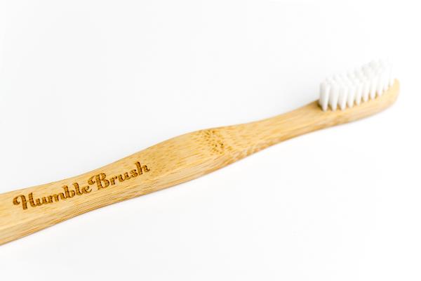 מברשת שיניים מבמבוק לילדים Soft לבן