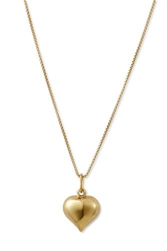 Retro heart necklace