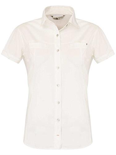 חולצת נשים אופנתית נורט פייס מדגם The North Face Women chipara shirt gardenia white
