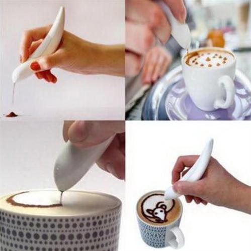 עט לקישוט ועיצוב קפה