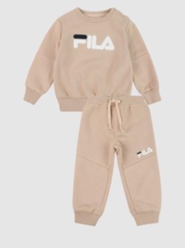 FILA חליפת פוטר בז תינוקות מידות NB-6 חודשים