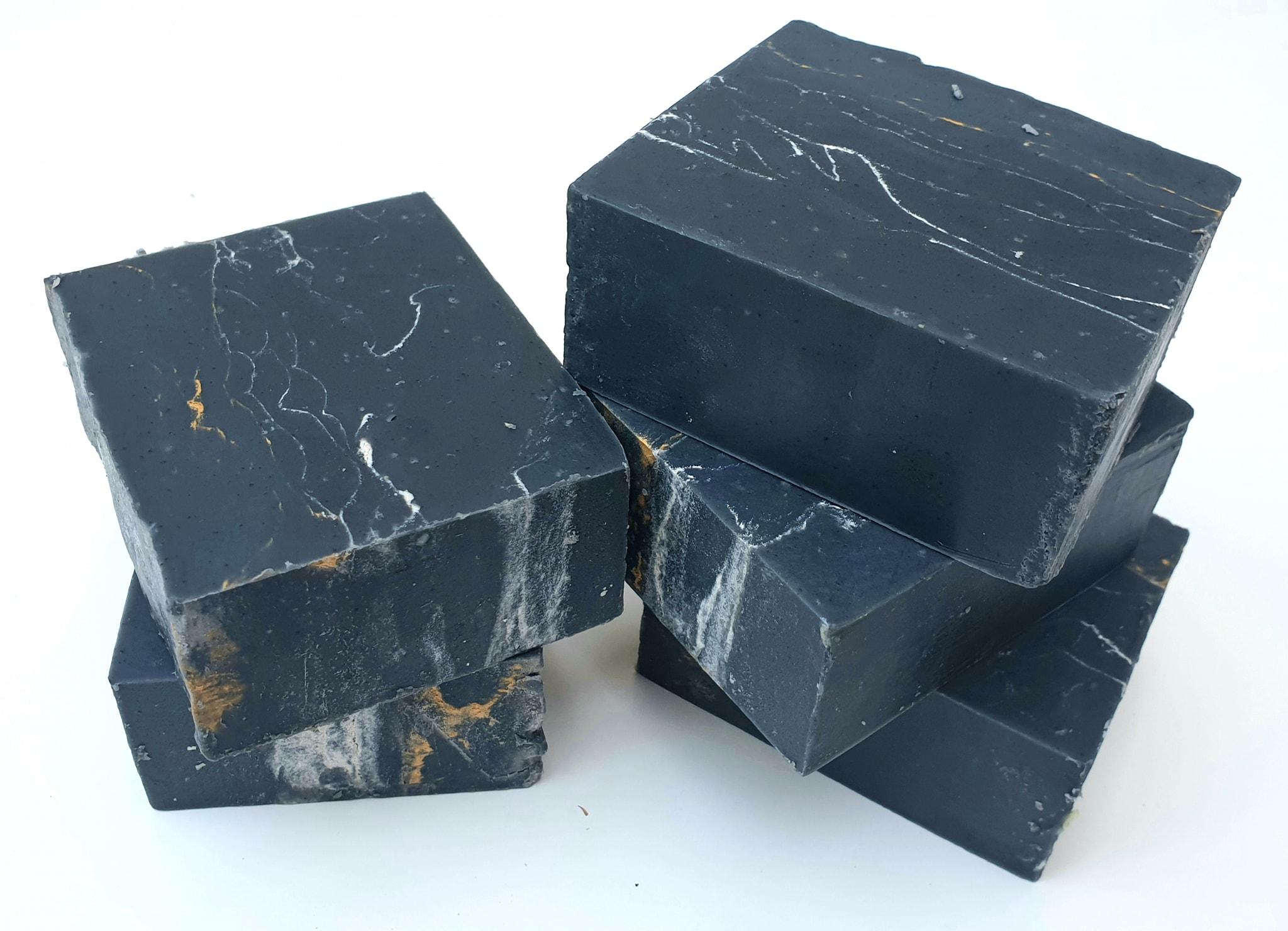 סבון שיש פחם פעיל