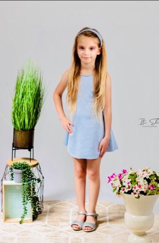 ערכת עיצוב אופנה למתקדמות שמלת בסיס+עליונית