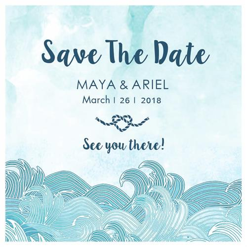 SAVE THE DATE - Nautical
