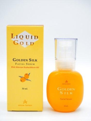 סרום משי זהוב עשיר בלחות- אנה לוטן סדרת הזהב