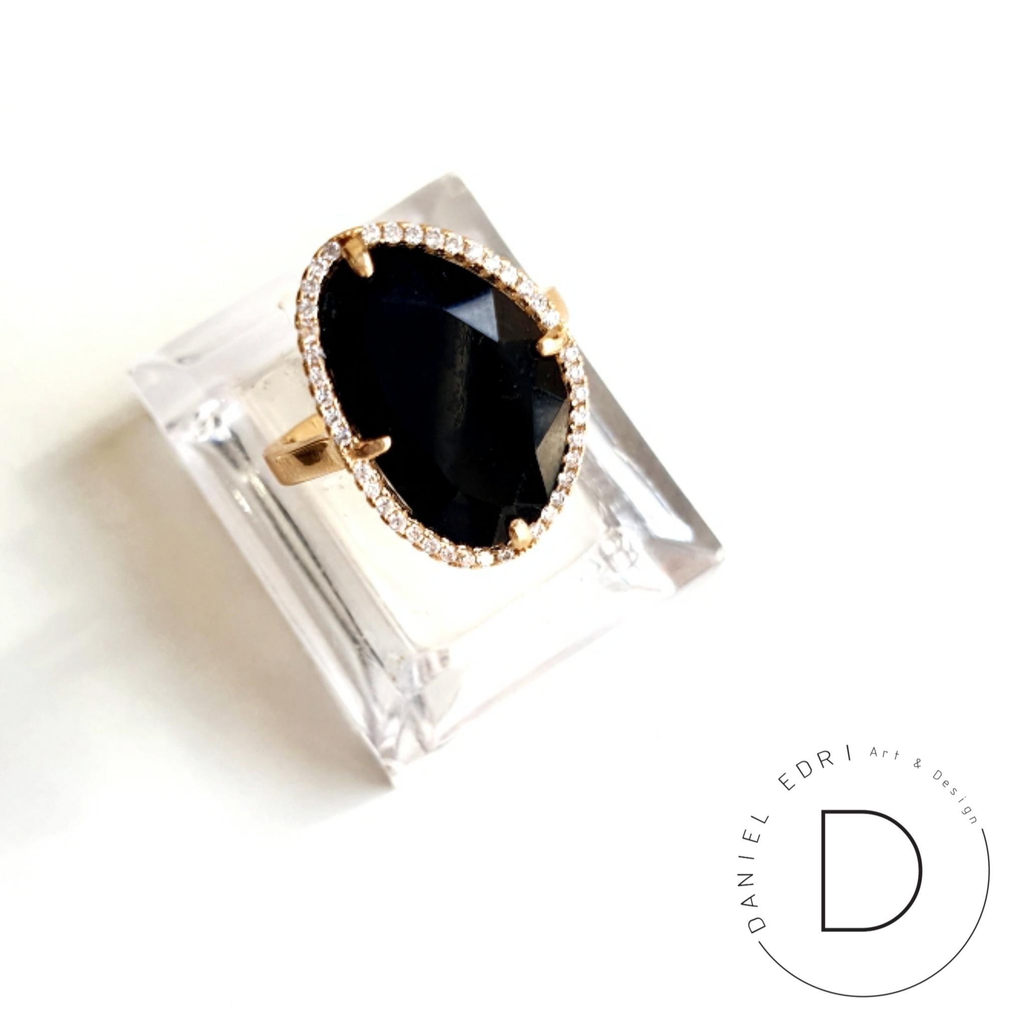 טבעת גלקטיק שחורה