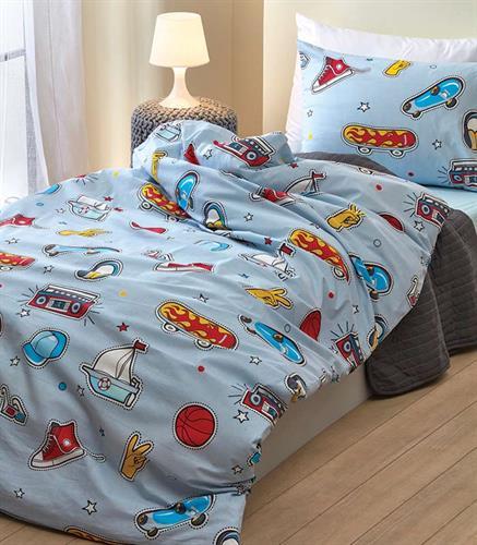 סט מלא מיטה וחצי  2דגמים דגם סקט .ודגם חלליות