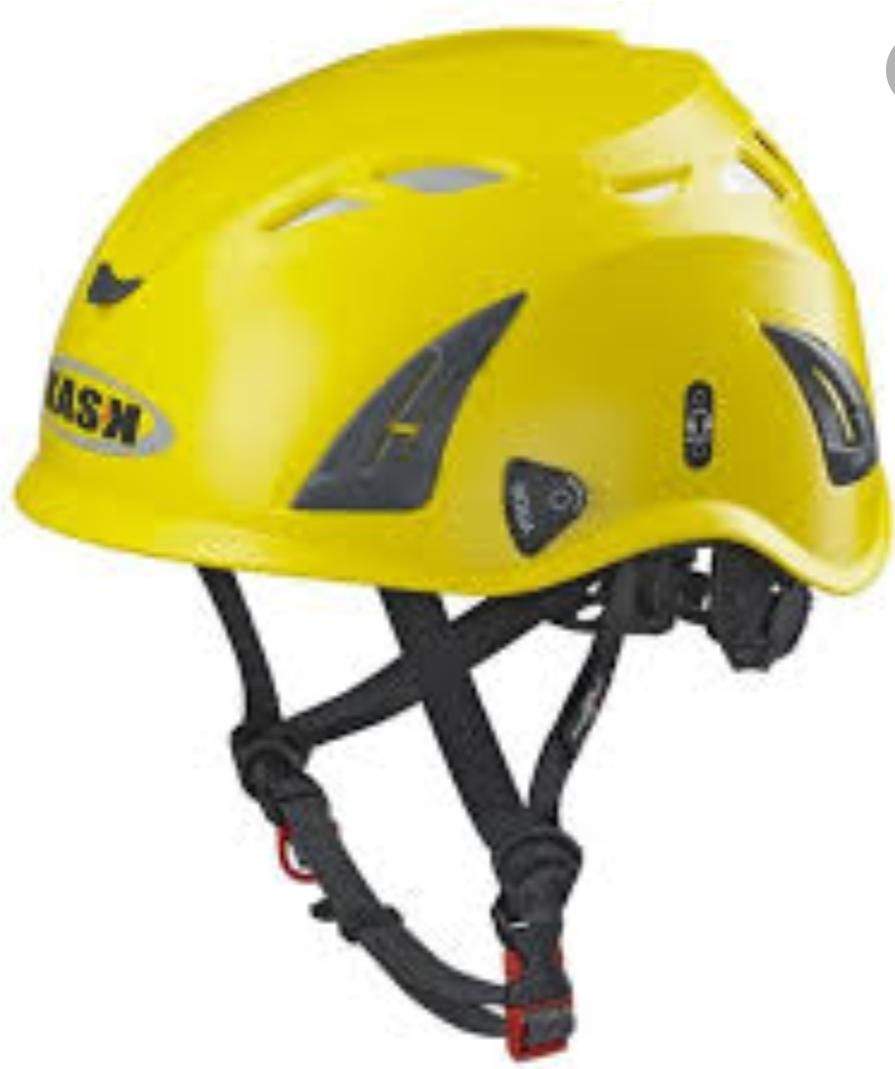 קסדה Kask פלזמה צהוב