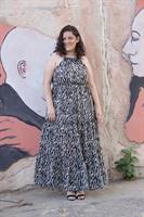 שמלת לילי זברה