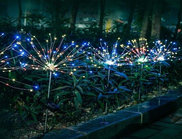 תאורה לד סולארית ייחודית לגינה