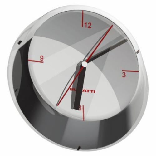 שעון קיר GLAMOUR כרום