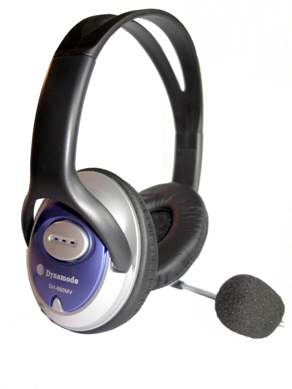 אוזניות מחשב סטריופוני  חיבור USB כולל כרטיס קול