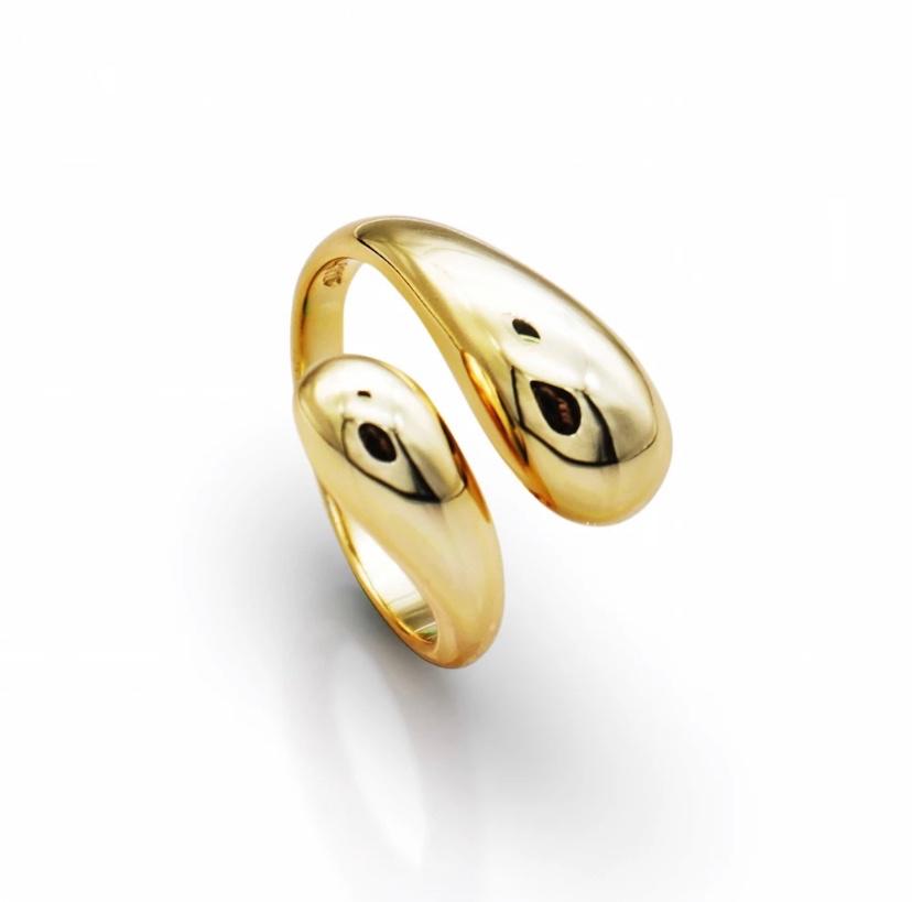 טבעת 18k Shilat