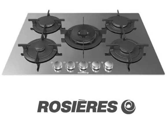 "ROSIERES כיריים ברוחב 75 ס""מ דגם RGV75WFMIX"