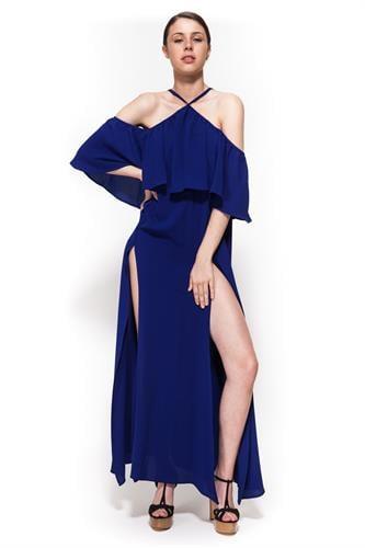 שמלת אקס פקטור כחולה