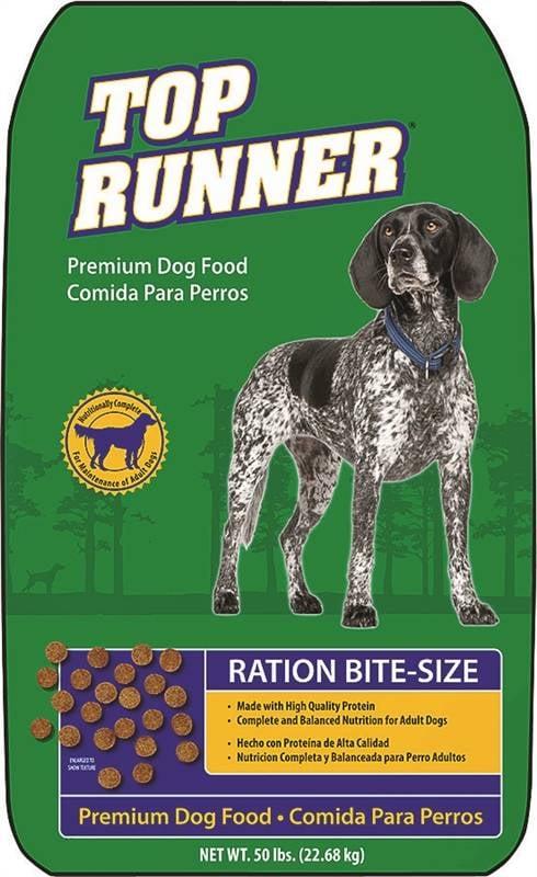 """טופ ראנר היי פרפורמנס 23 ק""""ג מזון יבש לכלבים"""