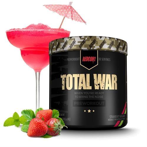 TOTAL WAR - PRE WORKOUT|קדם אימון עוצמתי 30 מנות הגשה 440 גרם