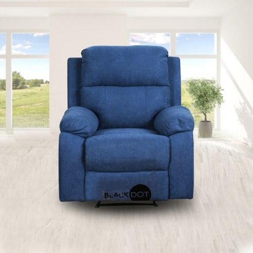 כורסת טלויזיה בד כחול סיאסטה