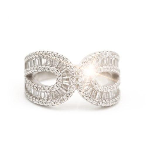 טבעת EMMA מכסף 925