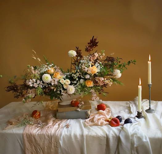 סדנאת שזירת פרחים וסטיילינג