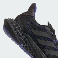נעלי גברים ADIDAS 4D שחור/סגול