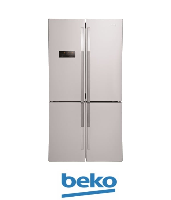 beko מקרר 4 דלתות דגם: 114780X נירוסטה מתצוגה !