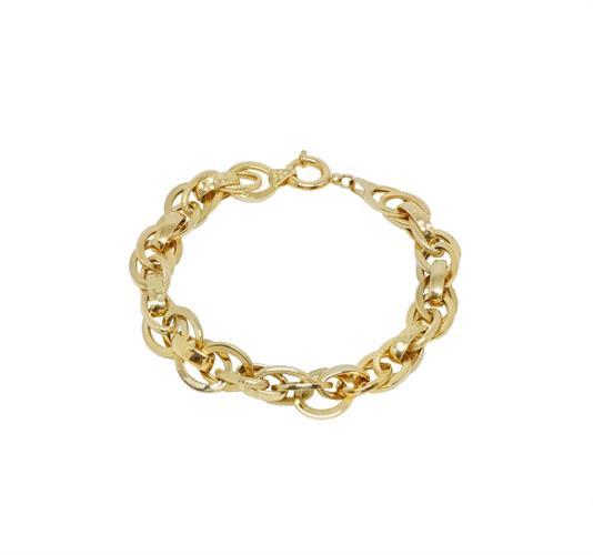 צמיד זהב לאישה בזהב 14קראט