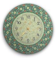 שעון קיר מעוצב, זכוכית אקרילית, דגם 2023  TIVA DESIGN