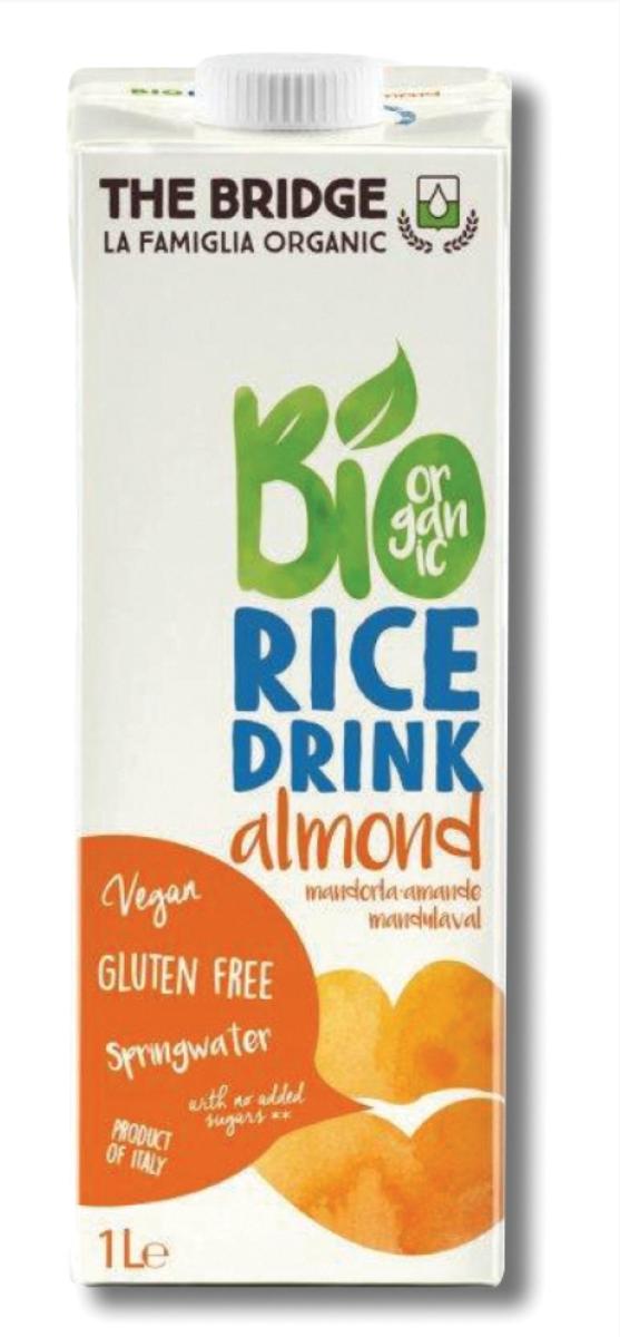 משקה אורז שקדים אורגני - ברידג׳