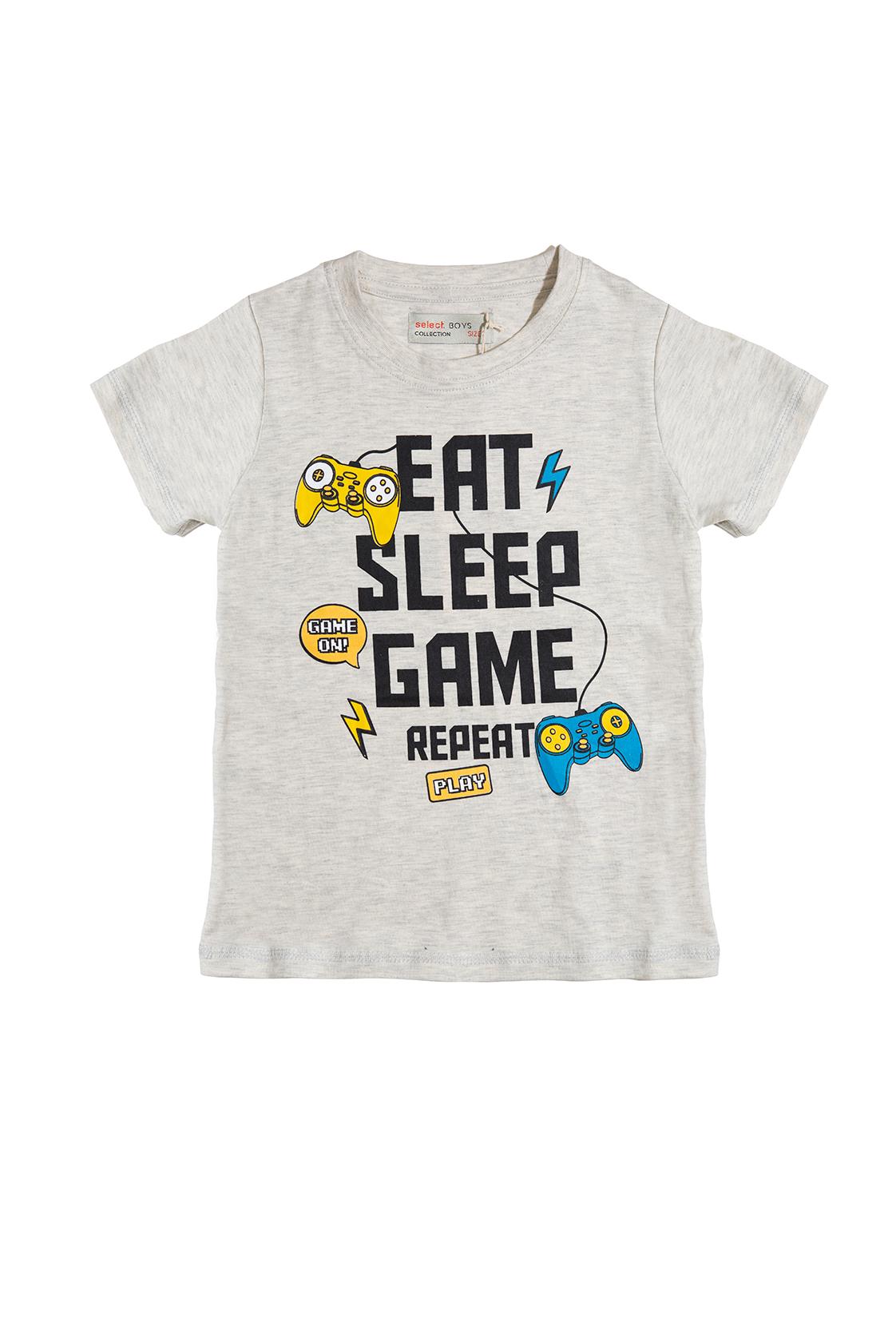 חולצת GAME אפורה